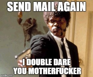 Send mail one more time